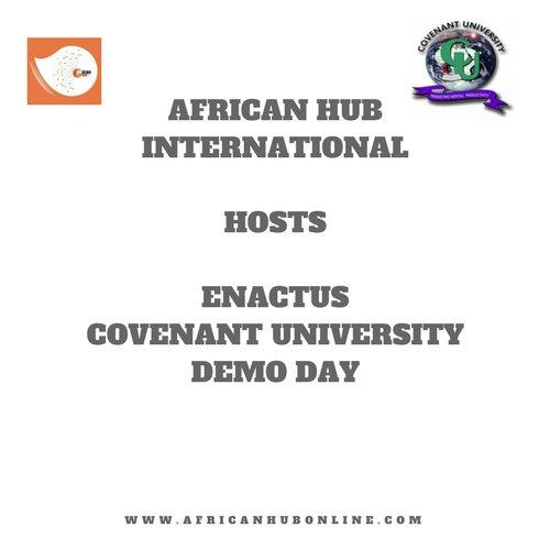 AHI hosts Enactus Covenant University Demo Day.. #AHI #covenantuniversity #ENACTUS #demoday #startups #businesssupport #hubinlagos #laghub<br>http://pic.twitter.com/2JMrc3HGvl