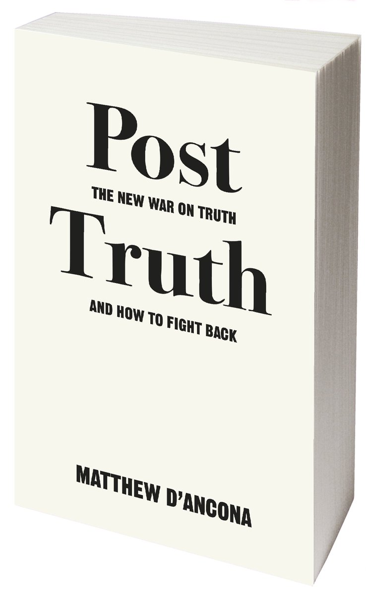 We&#39;re really looking forward to welcoming @MatthewdAncona to the store this evening to discuss #PostTruth w/ @UoMSALC&#39;s Monica Pearl.<br>http://pic.twitter.com/uqOsr9mIPu