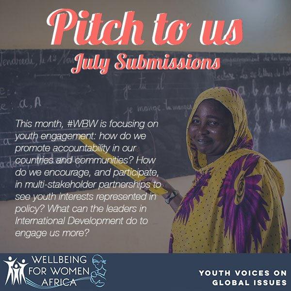 Grants available to young experts in African Development for articles on #SRHR, #youthengagement &amp; #SDGs -  http:// ow.ly/ROv330cHZhZ  &nbsp;   #WBW<br>http://pic.twitter.com/1YPTYvdkIu