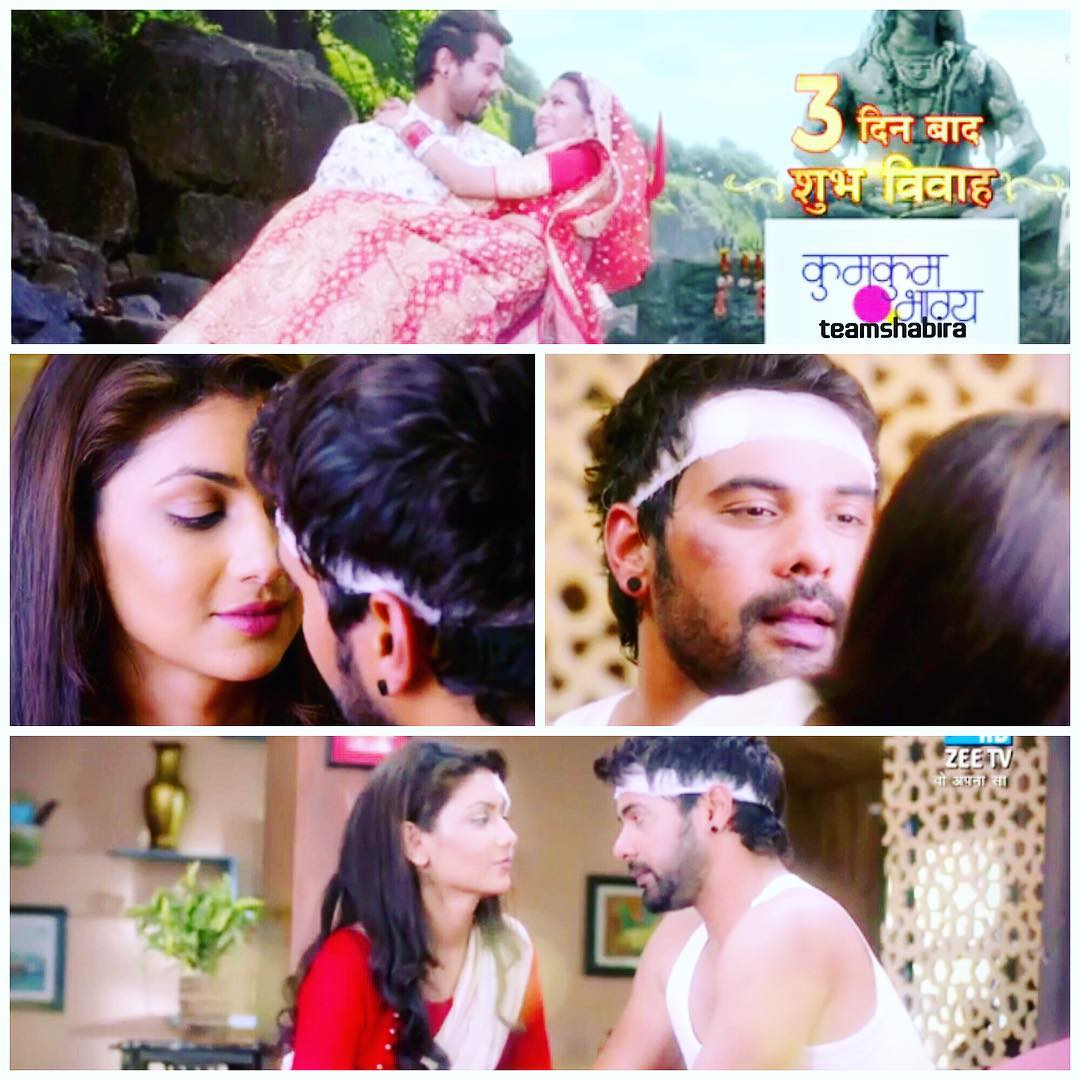 #PROMO 3 Days Pragya look Abhi lips and Pragya&#39;s voiceover says I will be your strength and walk with you. Abhi&#39;s voiceover says me too. <br>http://pic.twitter.com/8lyGYIqGQ3