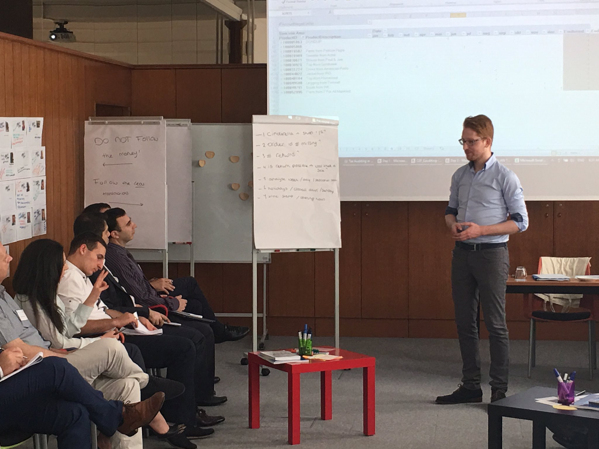 Day 2 of #e_commerce and #eAuditing, more data analysis & Excel  @Belastingdienst @CEF_Ljubljana https://t.co/mnTCQr3O4r