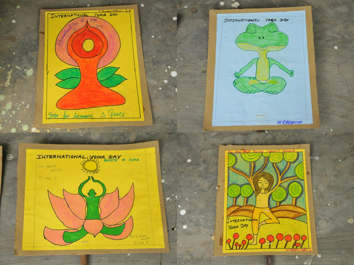 Cantonment Board Stm On Twitter Procession Play Cards Painted By School Children Of Cantonment Board St Thomas Mount Cum Pallavaram Dgde Pd Yoga Internationalyogaday Https T Co H5ekxede97