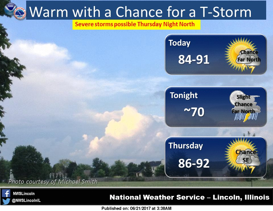 NWS Lincoln IL On Twitter The First Full Day Of Summer Will Feel - National weather service lincoln illinois