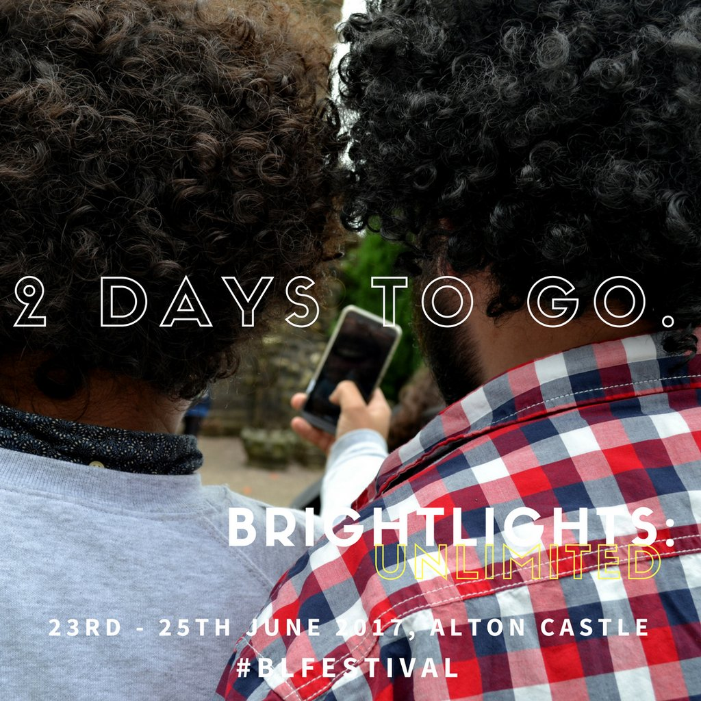 JUST TWO DAYS TO GO!  Don&#39;t forget... Registration opens at 17:00 on Friday!  #BRIGHTLIGHTS #BLUNLIMITED #SUMMERFESTIVAL   .Link in Bio.<br>http://pic.twitter.com/TRYFbmlrci