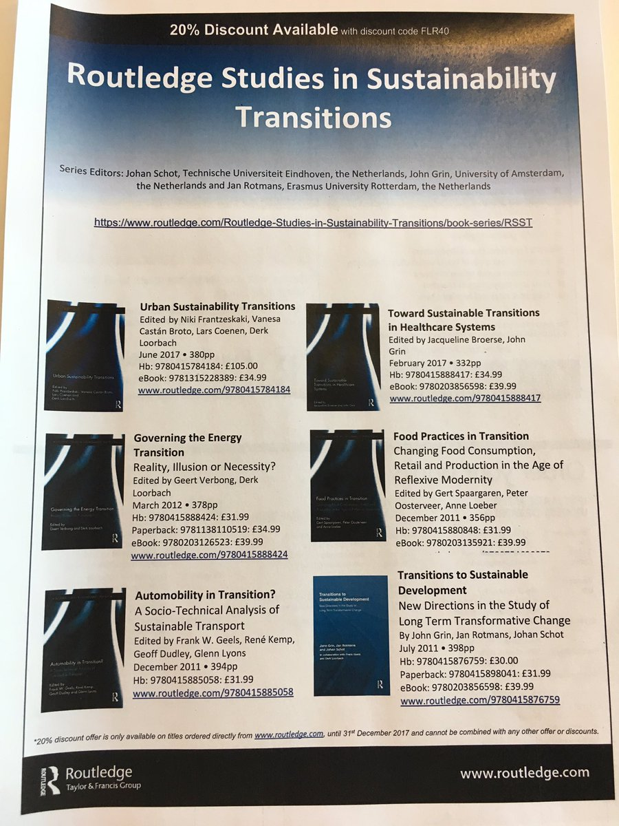 Derk loorbach on twitter latest addition to the routledge derk loorbach on twitter latest addition to the routledge transitions book series urban sustainability transitions edited by nfrantzeskaki et al fandeluxe Image collections