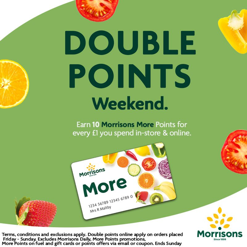 Morrisons More Card | Loyalty Research | Pinterest | Store online