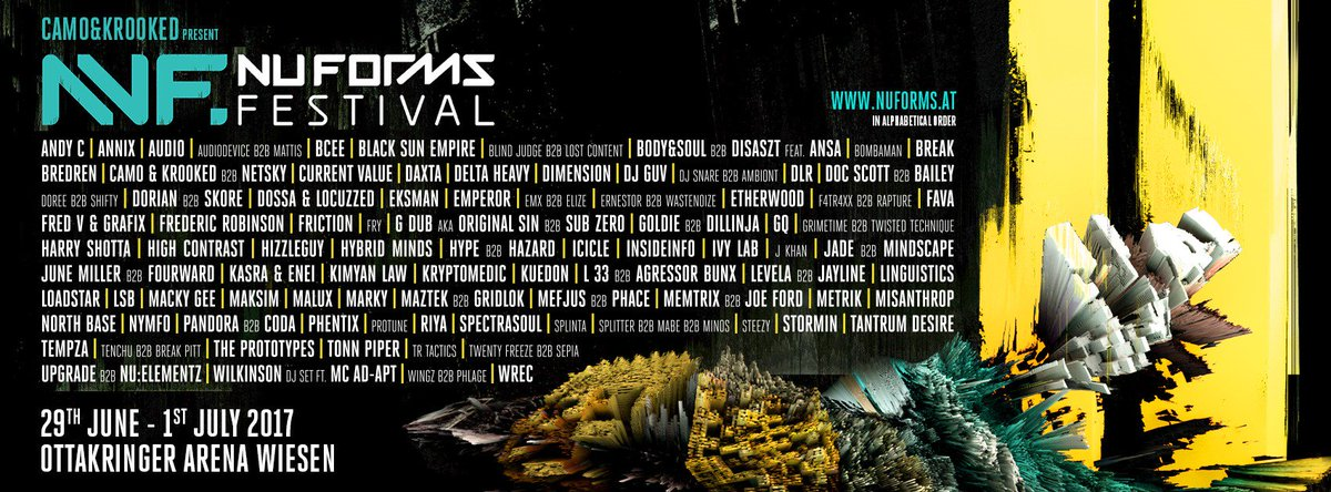 @NuFormsFestival coming closer and closer. Who&#39;s in?   #switch #stage #nuforms #nuf2017 #festival #drumandbass #dnb #jumpupdnb #wmfao #aut<br>http://pic.twitter.com/wa3P0Nb59i