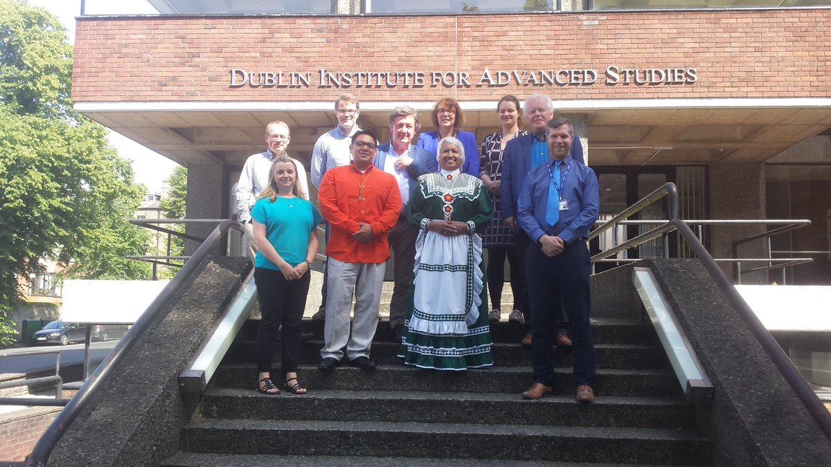 test Twitter Media - Lillie Roberts & Brad Joe @choctawnationOK visited @DIAS_Dublin Sch of Celtic Studies @SCSLibrary yesterday to discuss the Choctaw language https://t.co/FylO8RFNvw