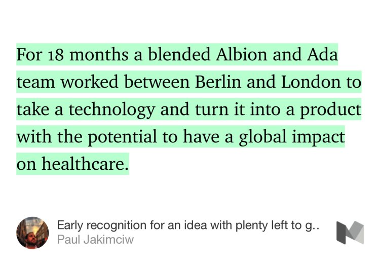 Our CEO Paul Jakimciw on why KBS Albion's Silver #CannesLions Innovation win is just the beginning for @AdaHealth https://t.co/cOiNyYH3Wv