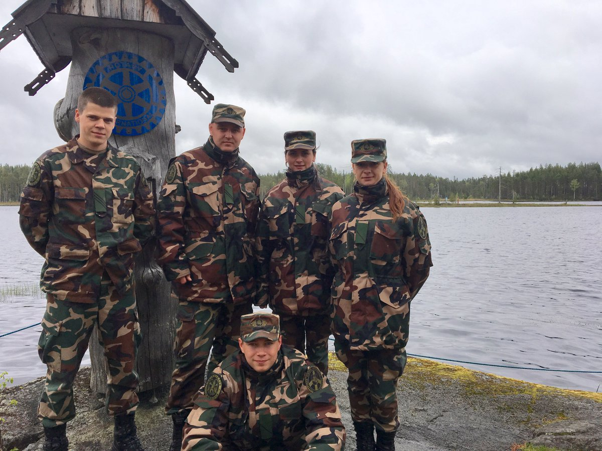 #Lithuanian Border Guard Students were in an Internship for two weeks @PKarjalan_raja within the framework of the #ErasmusPlus project <br>http://pic.twitter.com/5R1M4txtw8