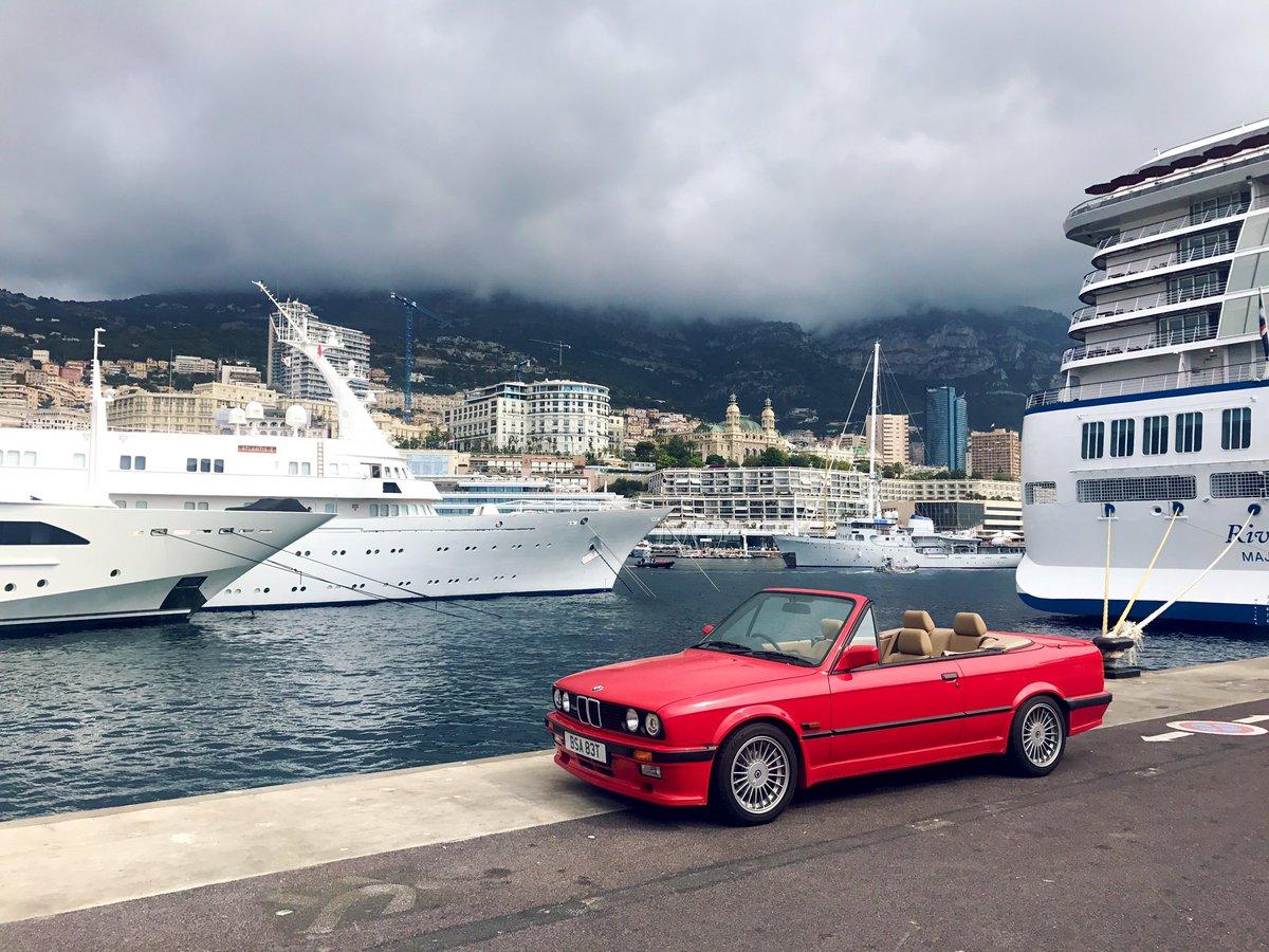 Hot today. #Alpina #Monaco <br>http://pic.twitter.com/W7yrNuMfPQ