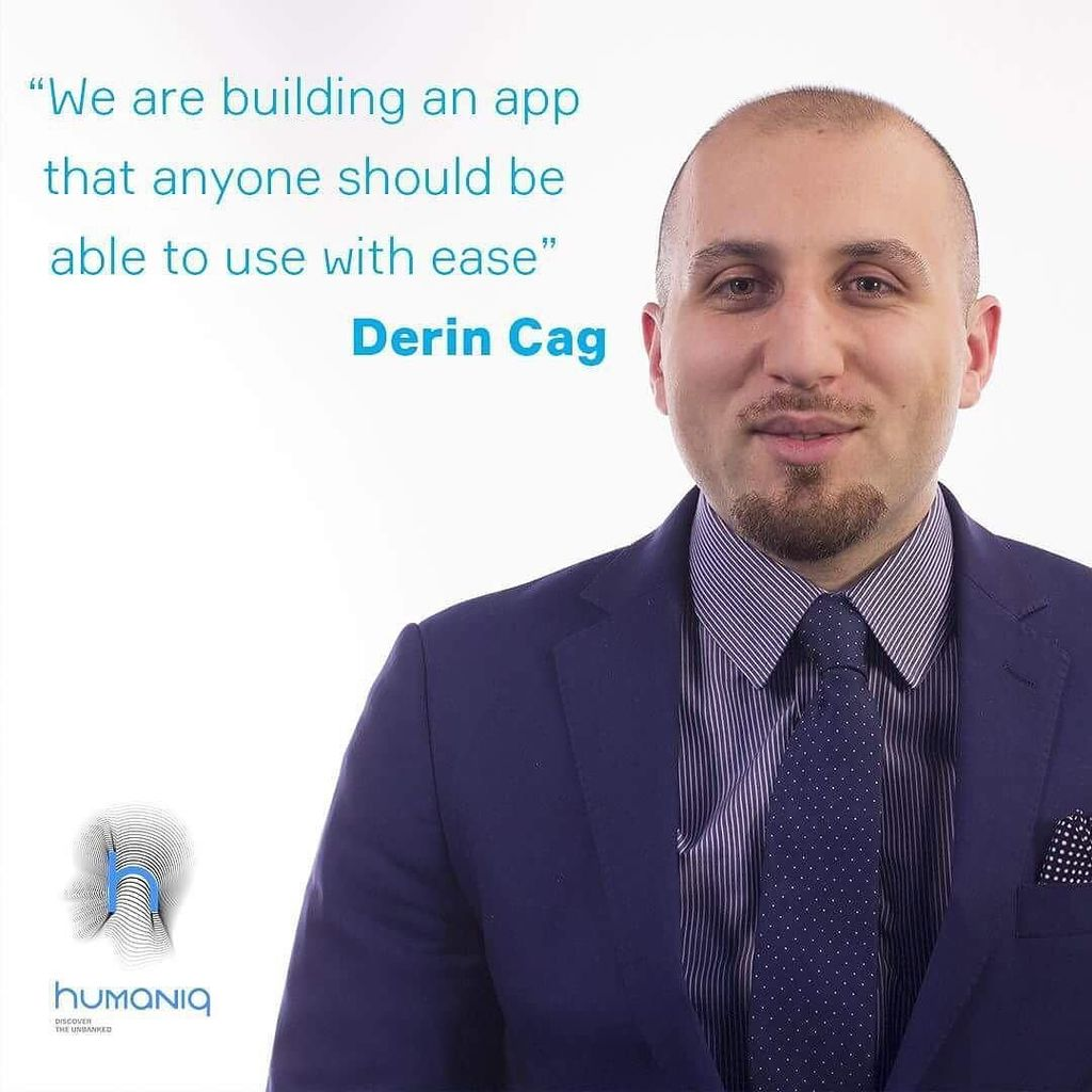 &quot;We are building an app that anyone should be able to use with ease&quot; a quote from Derin Cag, the CDO of #Humaniq #financialinclusion #crypt…<br>http://pic.twitter.com/npPqoAmnc6