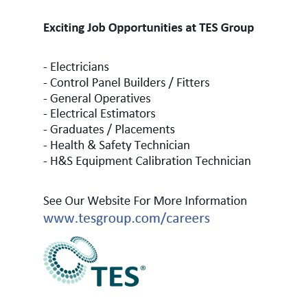 test Twitter Media - Exciting Number Of Job Opportunities at TES Group  See Our Website For All Vacancies: https://t.co/Xjb1mPyPIA  #CreatingJobs #NewJob #NIjobs https://t.co/dpGoSFfwsn