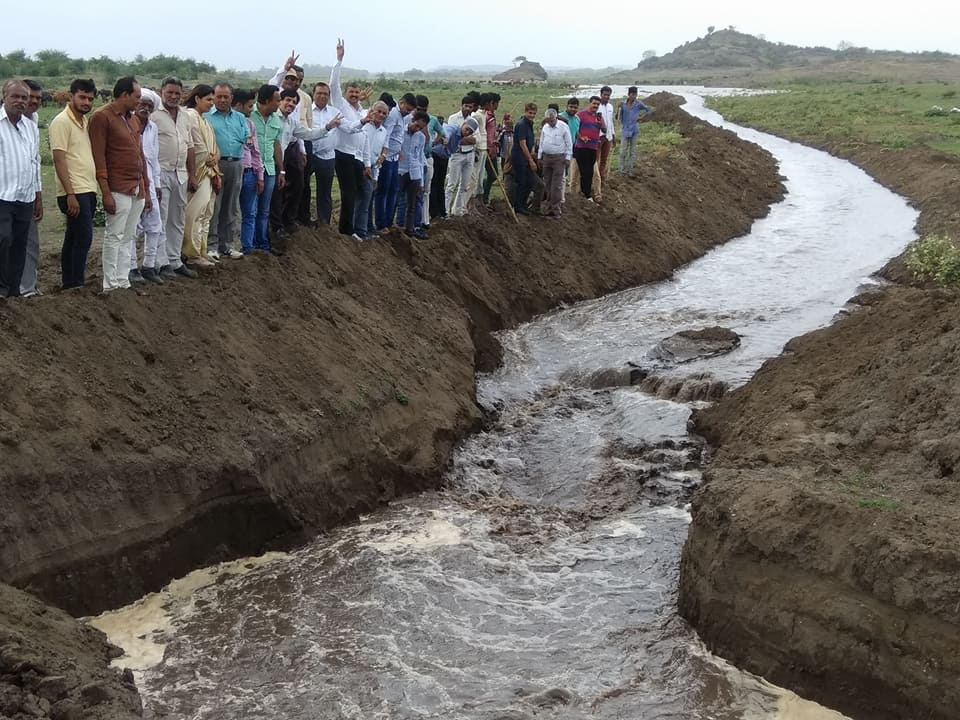 People of Rajkot overjoyed as main source of drinking water Aaji-1 dam starts receiving Narmada water