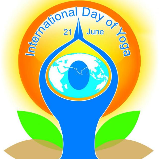 Internatiional Day of Yoga - 21 June  IMAGES, GIF, ANIMATED GIF, WALLPAPER, STICKER FOR WHATSAPP & FACEBOOK