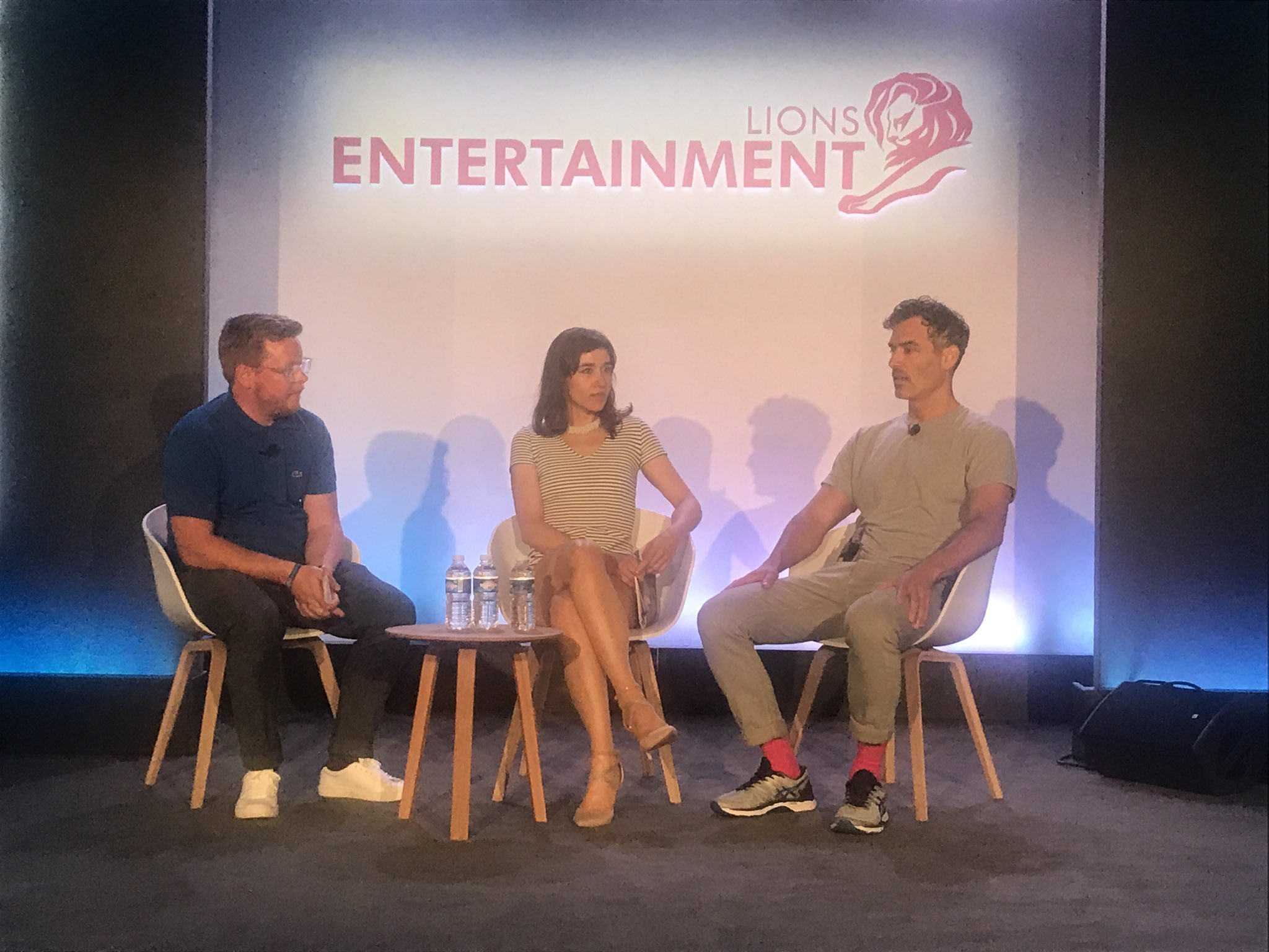 Eye-opening Q&A session with writer & director Daniel Mulloy and executive producer Arta Dobroshi #canneslions #home https://t.co/8GIZIkZSuR