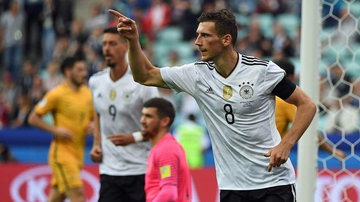 Leon #Goretzka is the Man of the Match for #AUSGER! You earned it, Leo...
