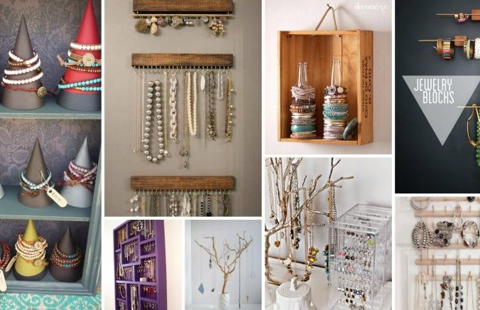 Decorative Jewelry Organizers That Will Help You Store Your Valuables