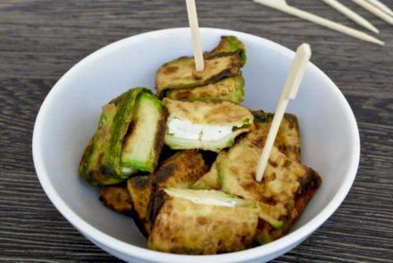 Greek Zucchini-Feta Bundles