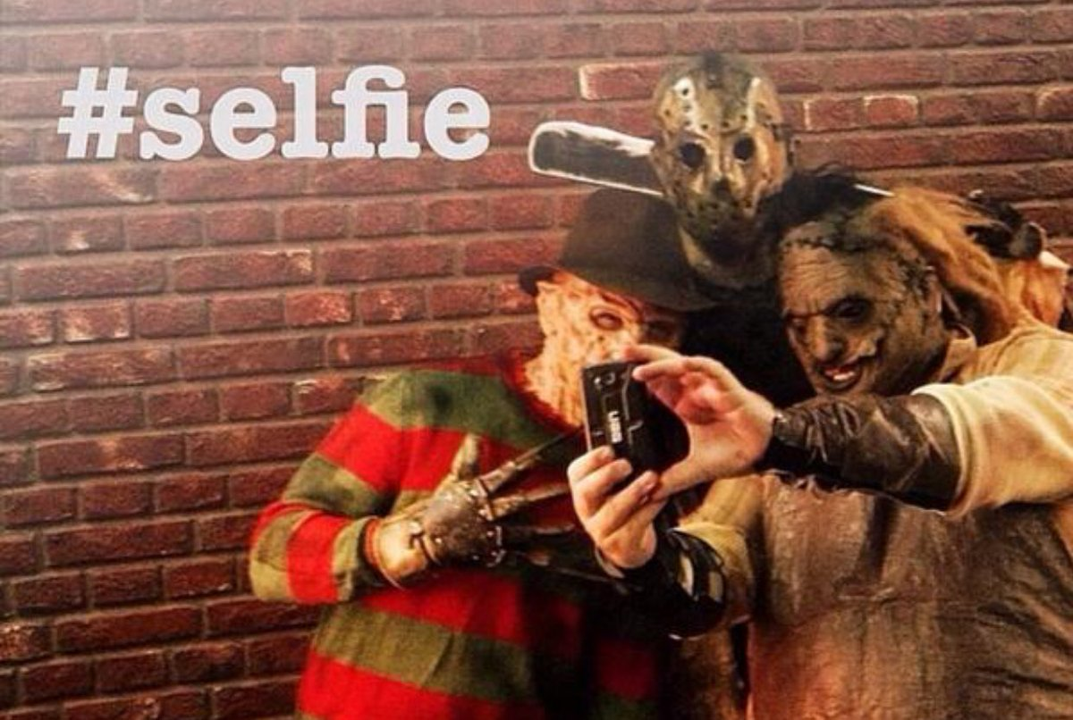 HAPPY #NationalSelfieDay #Horror FANS! <br>http://pic.twitter.com/Mw4Ou6j5EA