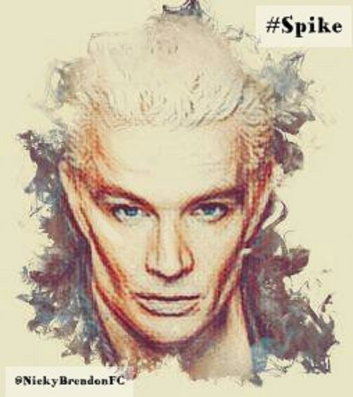 #Spike #William #BTVS #Buffy #writer #Tv The one who found a soul for love! (With a chip at first) he can&#39;t kill her, so he is fell in love!<br>http://pic.twitter.com/P3GQTKy433