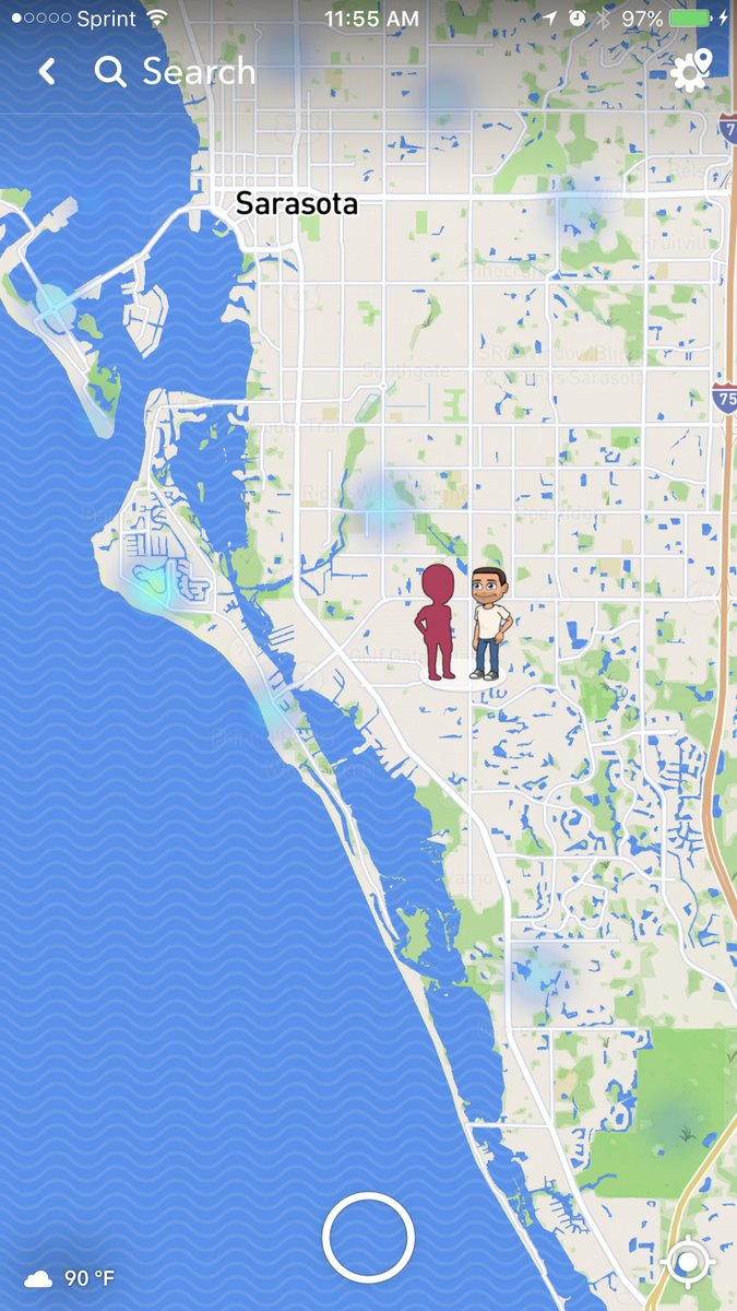 A1: Well starting today you can add geomarketing by snapping in certain locations! Tap the blue/green areas to see the snaps! #bufferchat <br>http://pic.twitter.com/6oIkkFpFJI