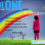 Are you THE ONE? We have a consistent need for volunteers. Message us for details.  https://t.co/I2L43vjB7m