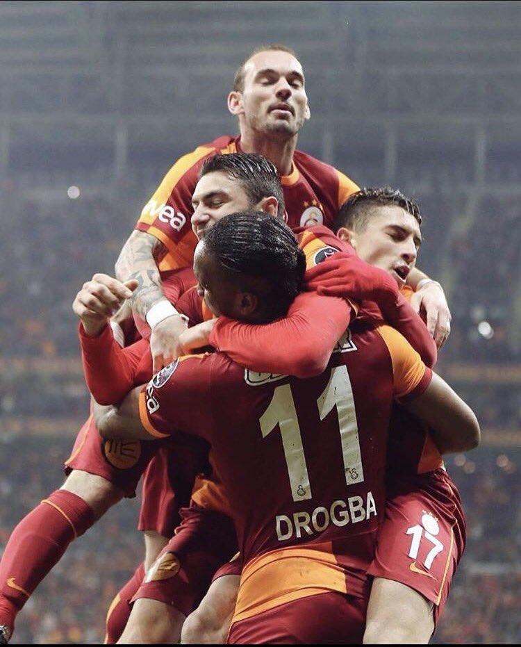 Once upon a time @GalatasaraySK @sneijder101010 #burakYlmaz #alextelles