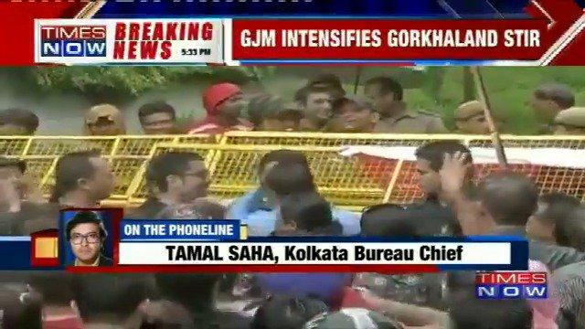 GJM ups the ante against Mamata govt, asks Darjeeling schools to evacuate students - Report #DarjeelingUnrest