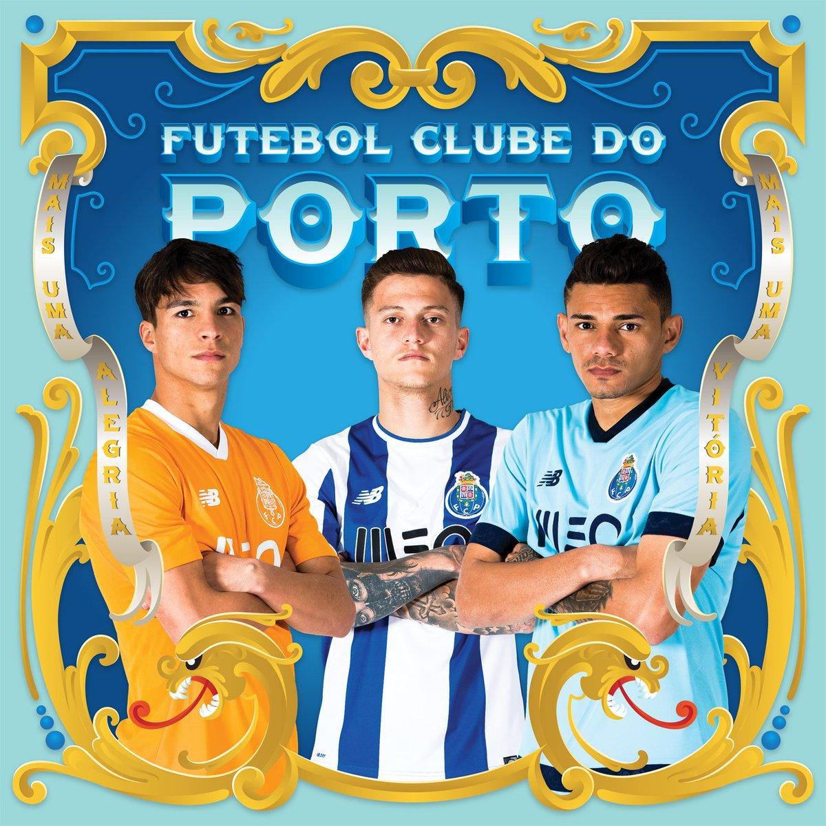 Os três equipamentos já estão disponíveis nas FC Porto Stores! Já tens o teu?   #FCPorto