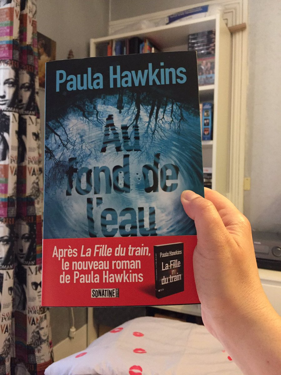 @PHawkinsAuthor merci @SonatineEdition  pour le SP Into The Water  #Aufonddeleau #paulahawkins #thriller #livre #lire #lecture #intothewater<br>http://pic.twitter.com/VqfSuREyGB