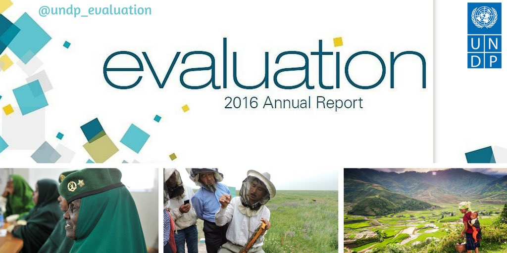 At #UNDP evaluations are vital for learning lessons towards a #strongerUNDP!   New2016 #AnnualReport on #eval!  http:// ow.ly/DIxy30c2dGL  &nbsp;  <br>http://pic.twitter.com/T3CqPt1WIr