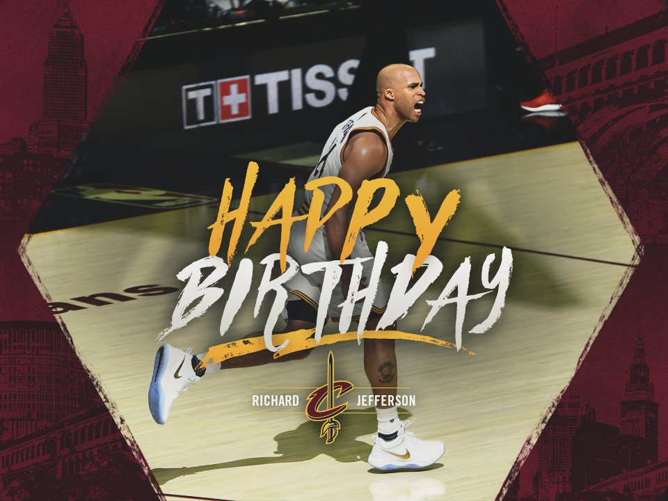 RETWEET to wish Richard Jefferson a Happy Birthday! 🎂 🎙️ 🏀 🎉 More RJ p...