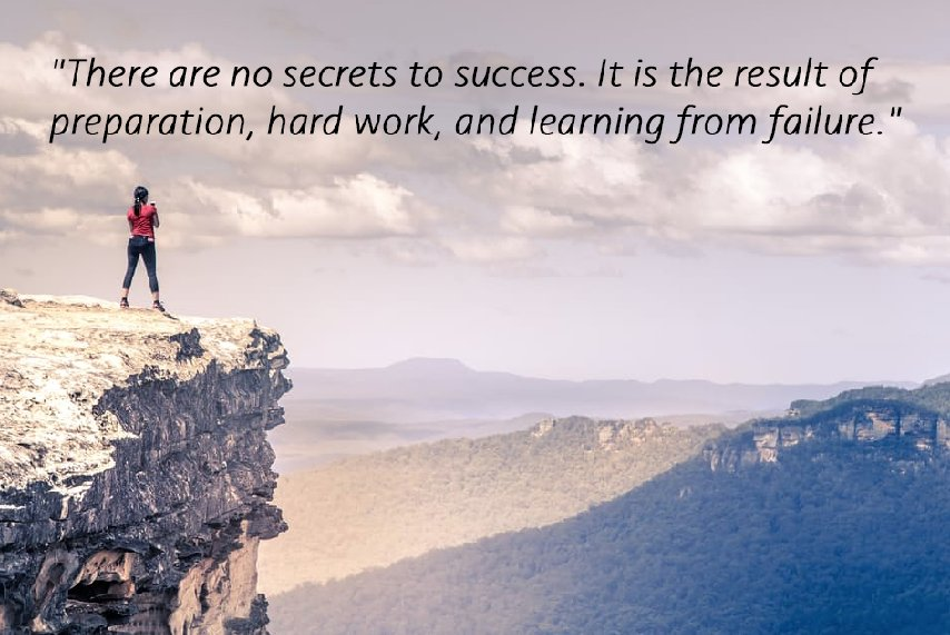 &quot;There are no secrets to success. It is the result of preparation, hard work, and learning from failure.&quot; #WednesdayWisdom #UKBizHour <br>http://pic.twitter.com/d1JMJewcX4