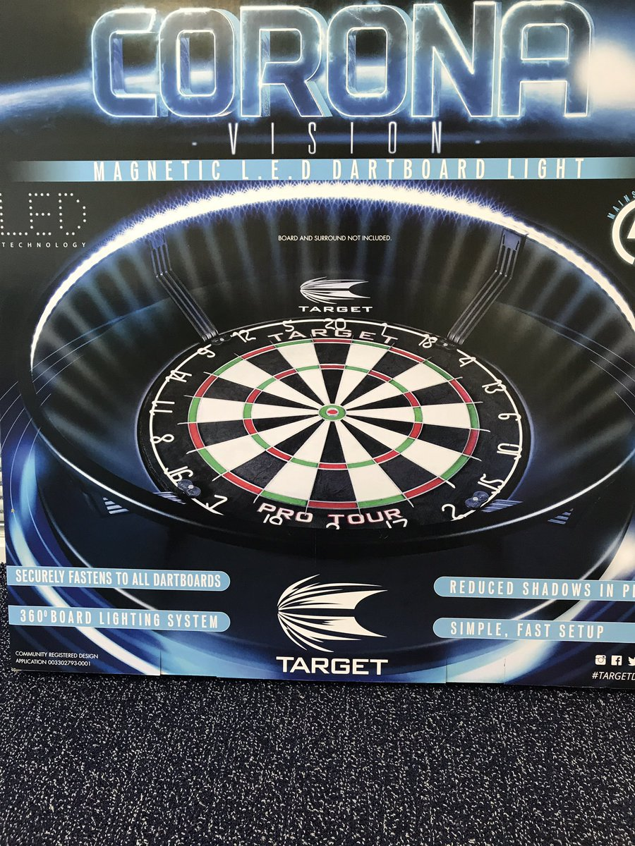 In they Come out they Go! Corona Vision #No1Sellinglight #Quality @TargetDarts<br>http://pic.twitter.com/gMVjKtGSNW