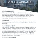 In this #RESOURCEspotlight learn more about Associate Broker Joshua Adams
