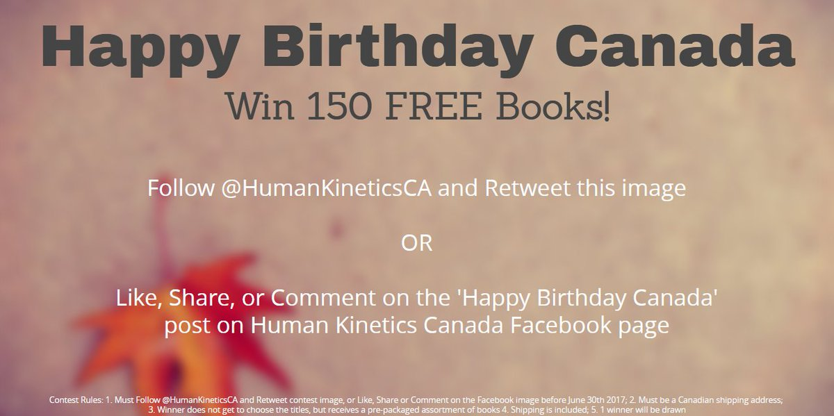 It&#39;s #WinWednesday! Enter to win 150 free books from HK! Follow and retweet this tweet! #PhysEd #Coaching #Fitness #Health #active #kids<br>http://pic.twitter.com/ycf6JDkHBf