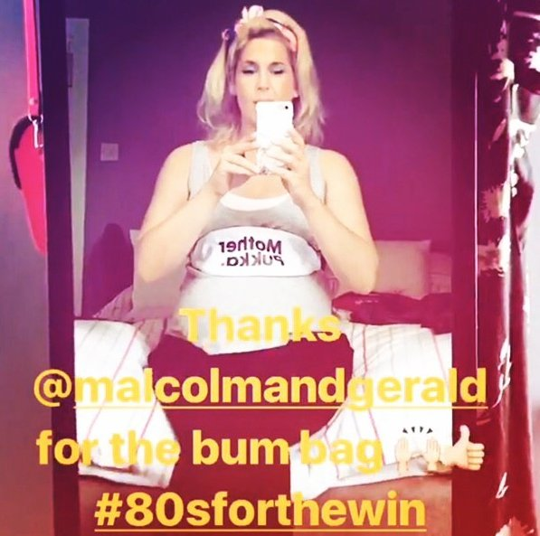 You&#39;re very welcome for your Bum bag @mother_pukka (or BUMP bag @cocomamastyle ) #bumbag #festivalready @GlastoFest @Bestival #80sforthewin<br>http://pic.twitter.com/R7Z4Jw3aXW