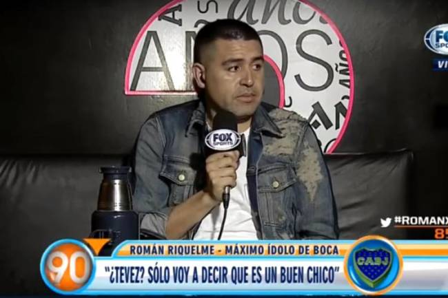 Riquelme ignora Maradona: 'Troco de canal quando ele fala' https://t.co/lqcve5rJ2Y