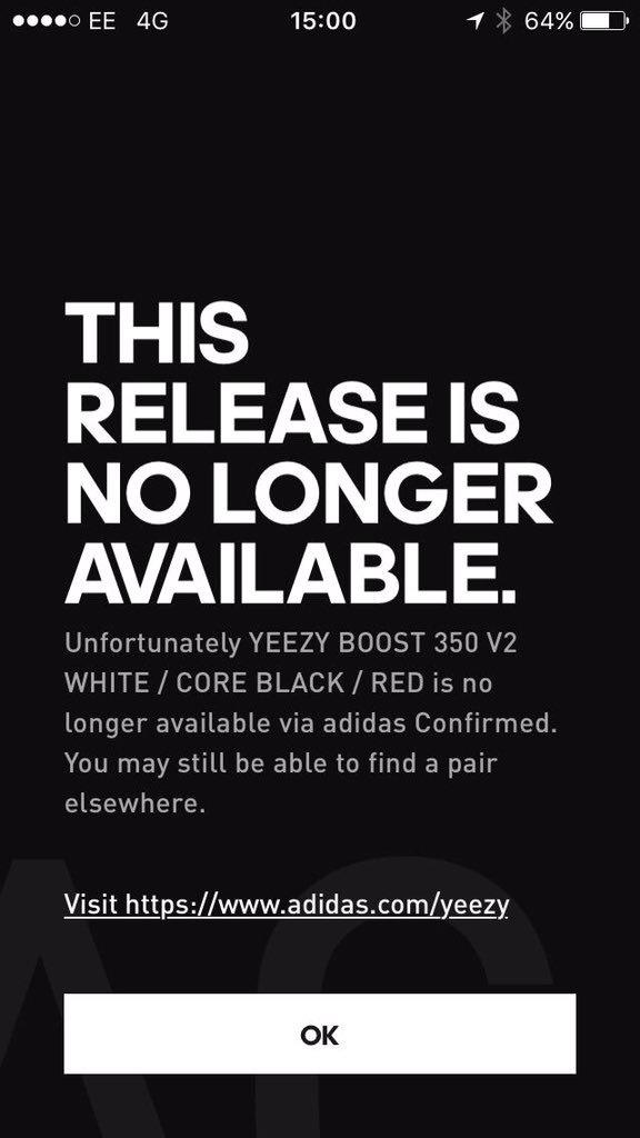 Adidas Yeezy Impulso 350 V2 Núcleo Rojo Blanco Negro fgdLX