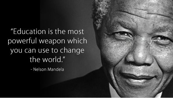 &quot;Education is the most powerful weapon which you can use to change the world.&quot; - Nelson Mandela #WednesdayWisdom #elearning <br>http://pic.twitter.com/m3upzjQEN9