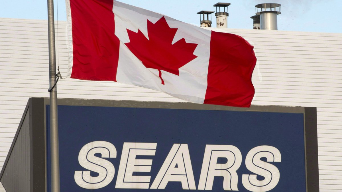 Sears Canada shares plunge on report that it's preparing to seek court...