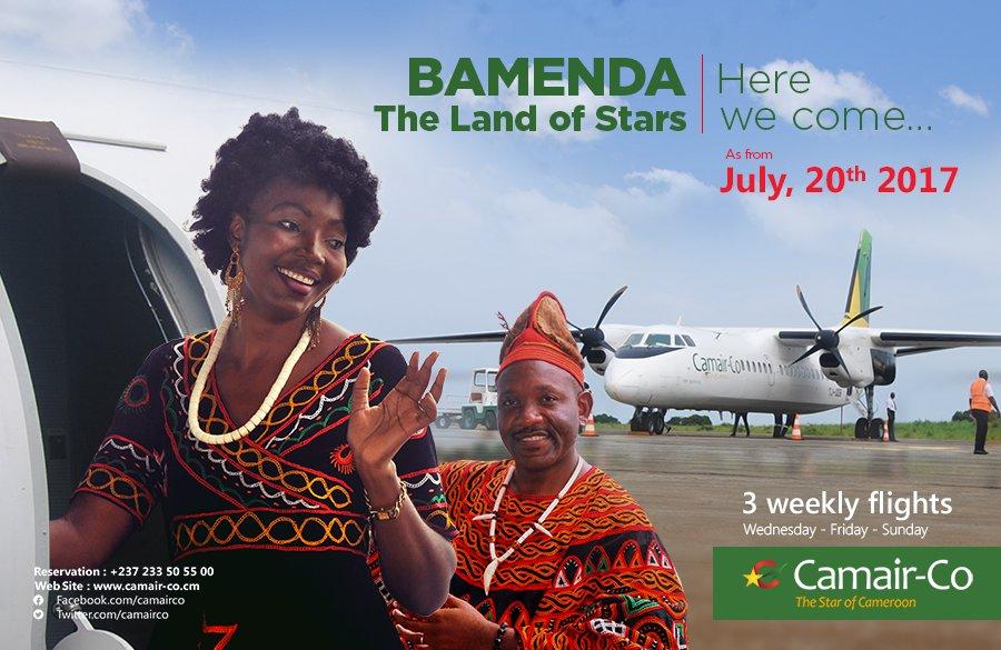 Pendant ce temps, Camair-co va commencer à desservir Bamenda