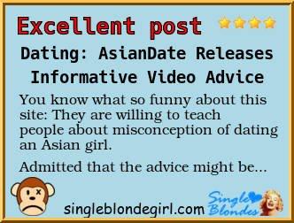 Asian dating european man woman 20