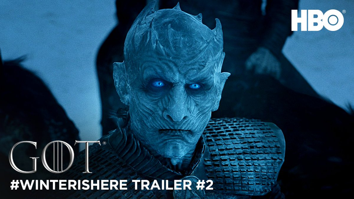 #WednesdayWisdom: Watch the new #GoTS7 trailer because #WinterIsHere....