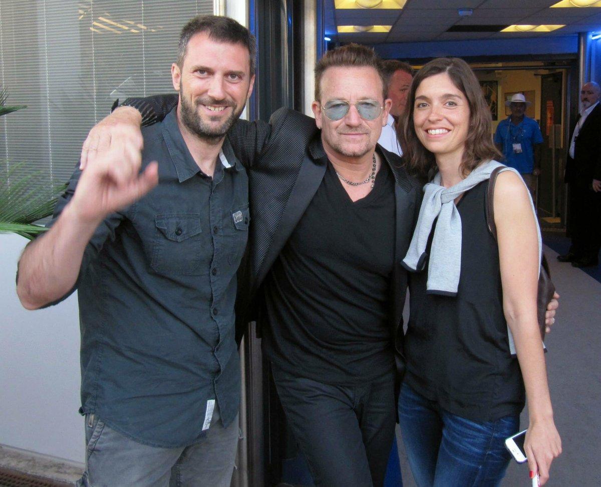 It&#39;s been 3 years...  #Bono @U2  #Cannes <br>http://pic.twitter.com/Jo9IBuGZv8
