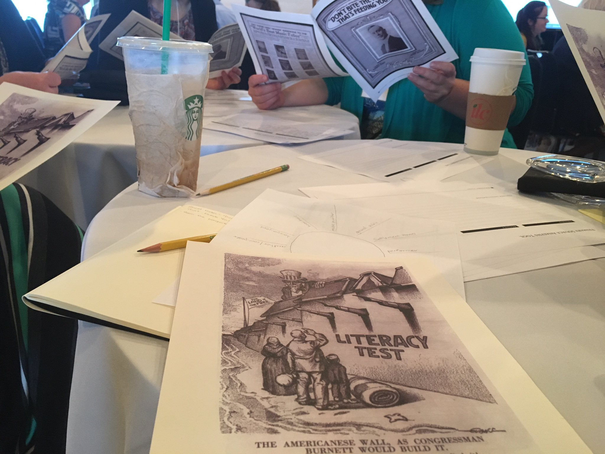 Looking at different perspectives in primary sources today with #LCTeachInst at @librarycongress https://t.co/K9OtcPW8jG