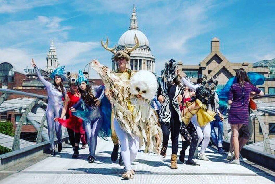 #Festivalready yet? @ArtfulBadgerUK brings a world of wonder to #London! #eventprofs #art #dance #theatre #festivalseason #aerial #cabaret<br>http://pic.twitter.com/PkymBCivJq