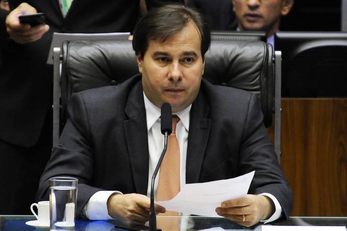 Rodrigo Maia reúne deputados e ministros em café da manhã https://t.co/ZPW8uNg8JD