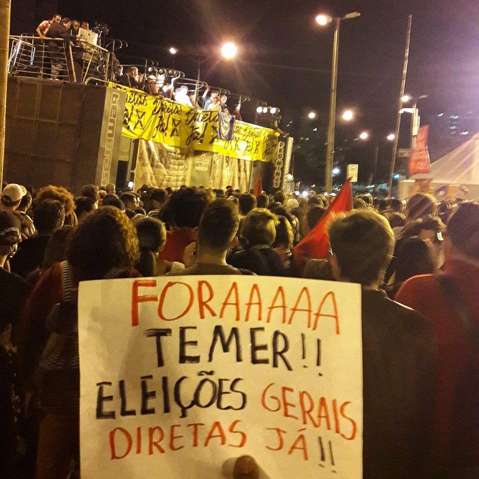 55º Congresso da @uneoficial mostrou força do movimento estudantil, reforçou Diretas Já e convocou greve geral https://t.co/W10zCx2b07